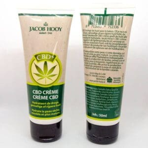 Baak Detailhandel Jacob Hooy Cbd Creme 50ml Tube