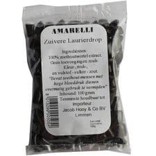 Amarelli laurierdrop brokjes