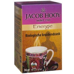 Baak Detailhandel Jacob Hooy Energie 20 Theezakjes 700