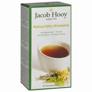 Baak Detailhandel Jacob Hooy Natuurlijke Stoelgang 20 Theezakjes 700