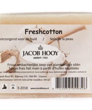 Baak Detailhandel Jacob Hooy Natuurlijke Verzorging Fresh Cotton Zeep 700