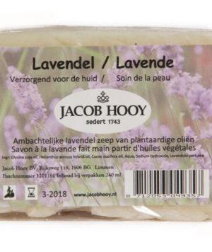 Baak Detailhandel Jacob Hooy Natuurlijke Verzorging Lavendelzeep 700
