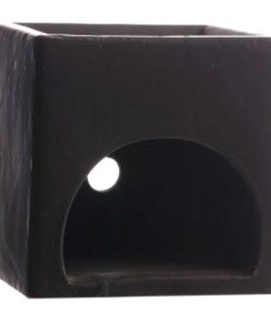 Baak Detailhandel Jacob Hooy Aromalampje Geurbrander Zwart Vierkant Laag 700