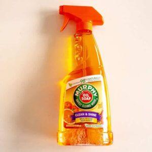Baak Detailhandel Murphy Multi Use Oil Soap Orange Wood Cleaner 650ml Spray Flacon Voorzijde