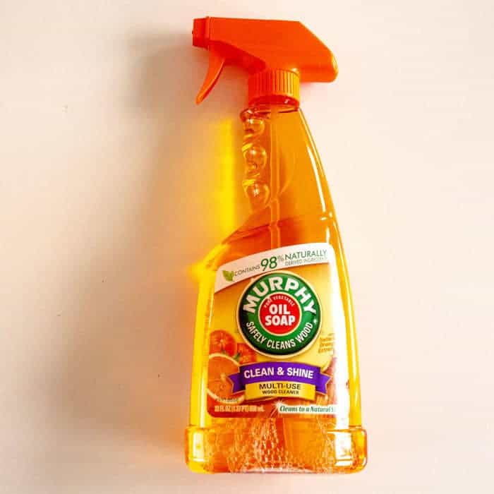 Baak Detailhandel Murphy Multi Use Oil Soap Orange Wood Cleaner 650ml Spray Flacon Voorzijde