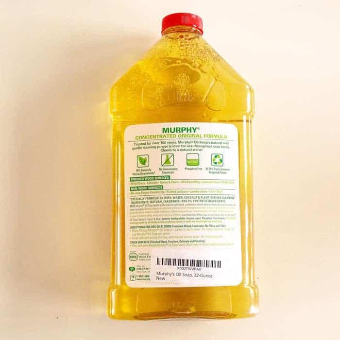 Baak Detailhandel Murphy Oil Soap Multi Use Wood Cleaner 946ml Label