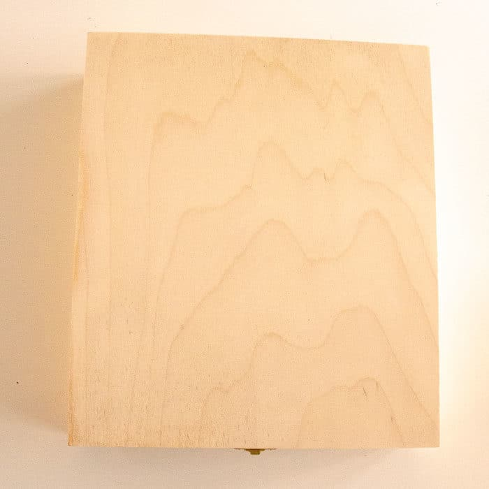 Baak Detailhandel Thee Kistje Hout 25x30cm 12 Vakken Gesloten