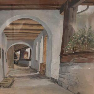 Baak Detailhandel Schilderij Jenny Jantzen Gallerijtje In Werdenberg Zwitserland