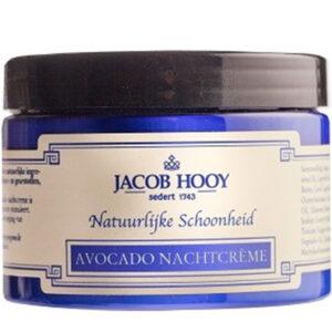 04805 Avocado Nachtcreme Jacob Hooy Baak Detailhandel
