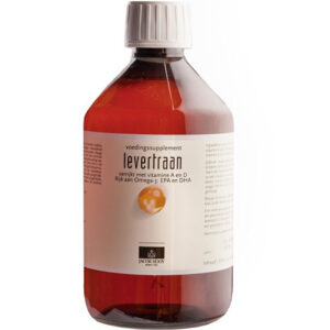 70764 Levertraan 500ml Jacob Hooy Baak Detailhandel