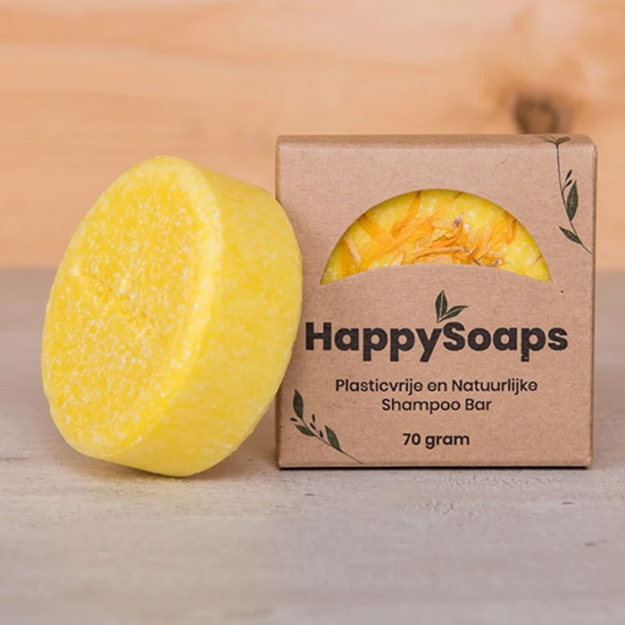 Chamomille Down And Carry On Shampoo Bar 70g Happy Soaps Baak Detailhandel