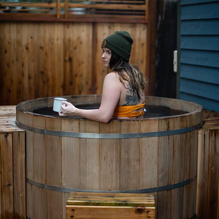 Hot Tub Vrouw Jacob Hooy Baak Detailhandel