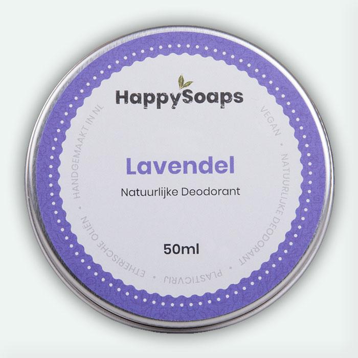Natuurlijke Deodorant Lavendel 50ml Happysoaps Baak Detailhandel