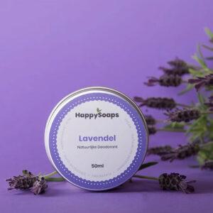 Natuurlijke Deodorant Lavendel Happysoaps Baak Detailhandel