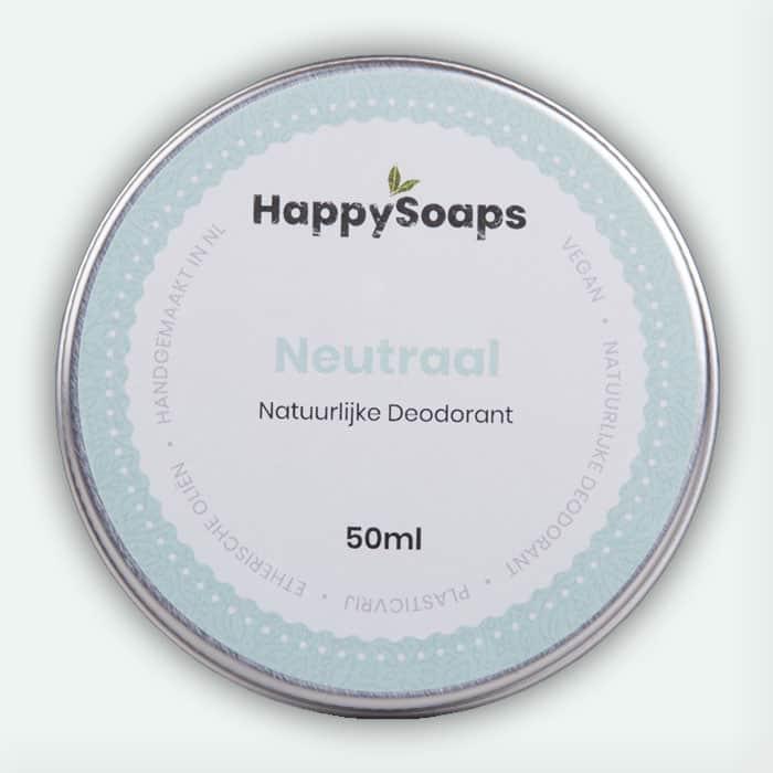Natuurlijke Deodorant Neutraal 50ml Happysoaps Baak Detailhandel