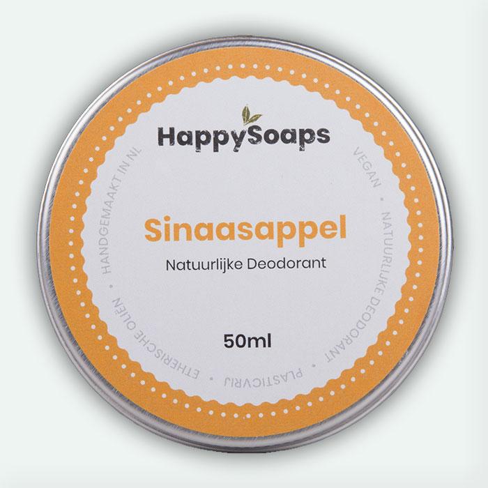 Natuurlijke Deodorant Sinaasappel 50ml Happysoaps Baak Detailhandel
