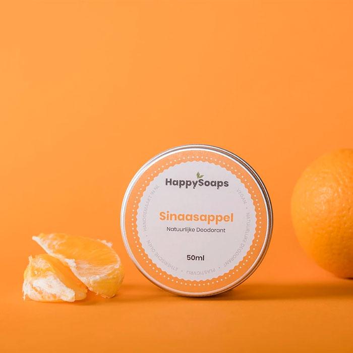 Natuurlijke Deodorant Sinaasappel Happysoaps Baak Detailhandel