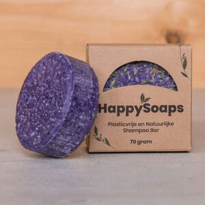 Purple Rain Shampoo Bar 70g Happy Soaps Baak Detailhandel