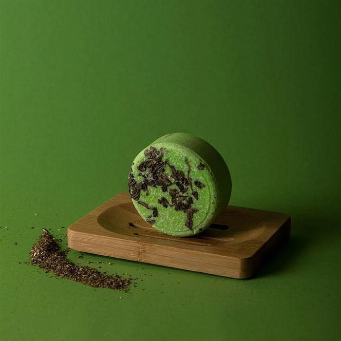 Tea Riffic Natural Shampoo Bar Happy Soaps Baak Detailhandel