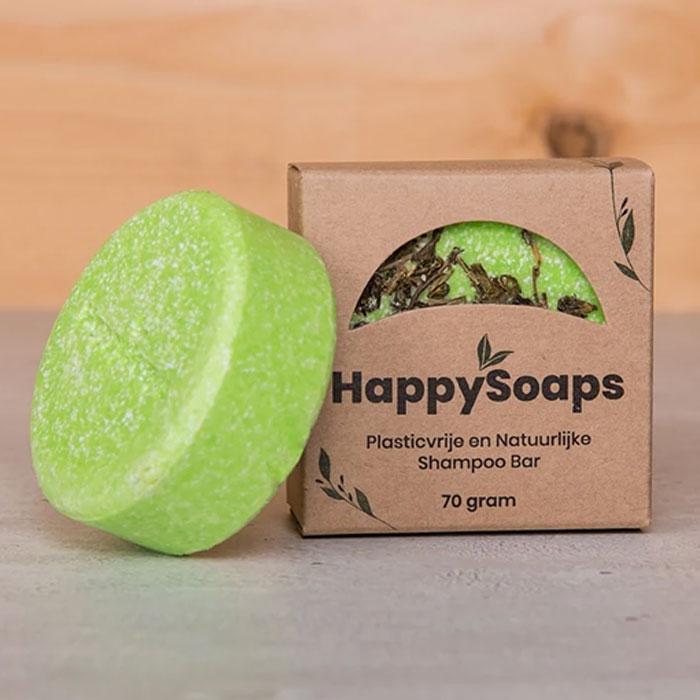 Tea Riffic Shampoo Bar 70g Happy Soaps Baak Detailhandel