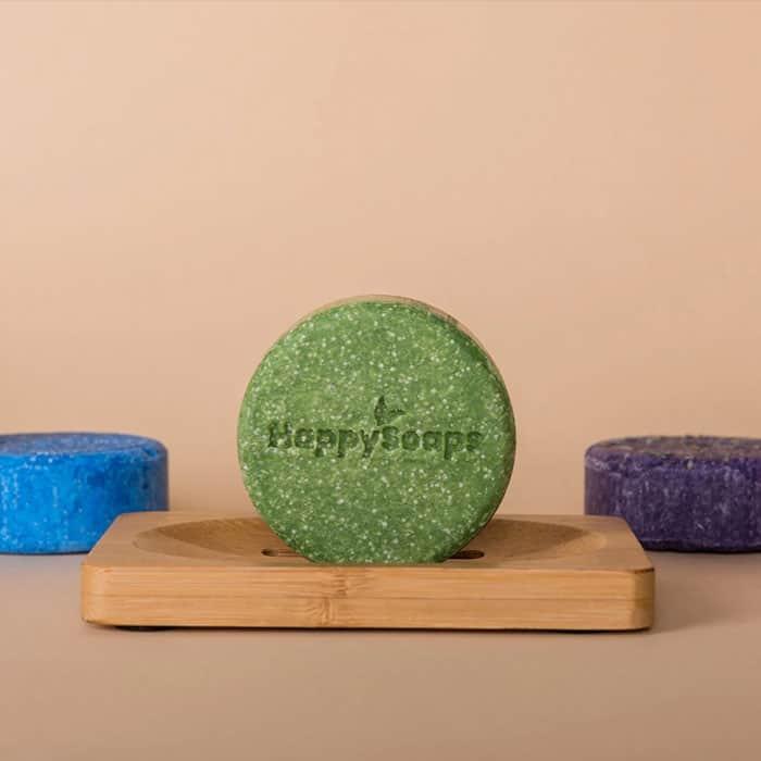 Happy Soaps Shampoo Bars Natuurlijk Baak Detailhandel