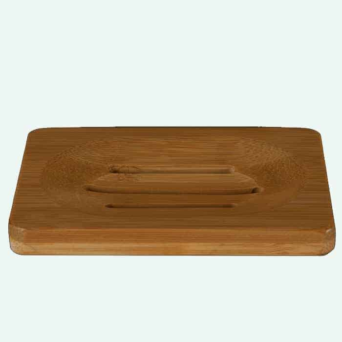 Shampoo Bar Houder Voor 2 Bars Bamboe Happy Soaps Baak Detailhandel