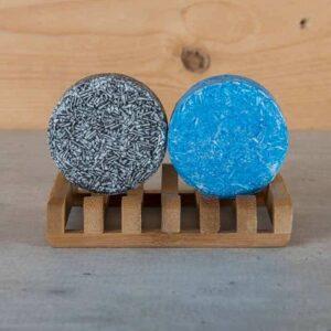 Shampoo Bar Zeep Houder Bamboe Duurzaam Happy Soaps Baak Detailhandel