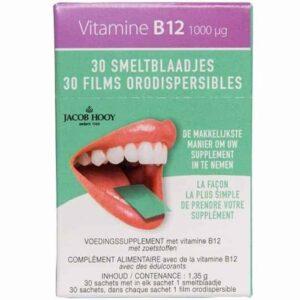 Jacob Hooy Vitamine B12 Smelt 29555 Baak Detailhandel